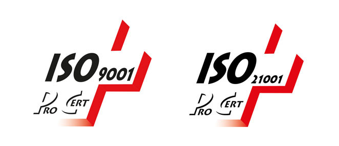 Certifications ISO 9001 et 21001