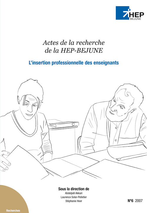 L'insertion professionnelle des enseignants