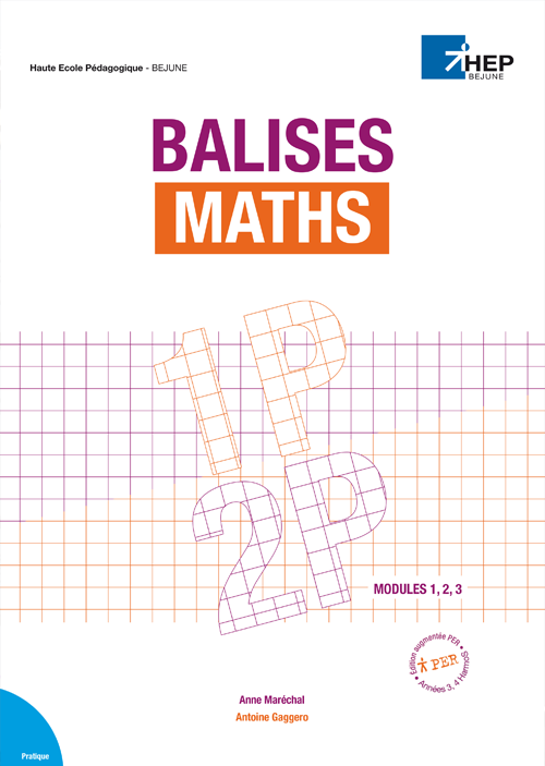 Balises Maths 1P/2P modules 1,2,3